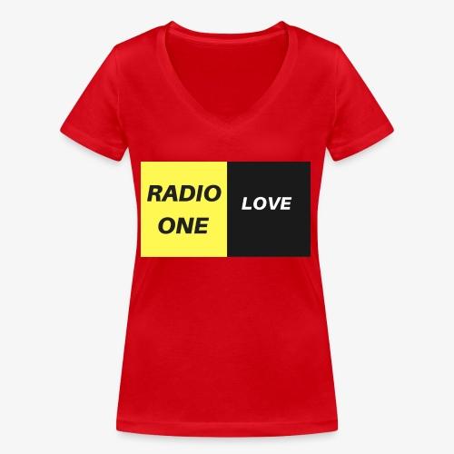 RADIO ONE LOVE - T-shirt bio col V Stanley & Stella Femme