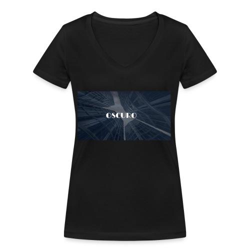 COPERTINA ALBUM OSCURO - T-shirt ecologica da donna con scollo a V di Stanley & Stella