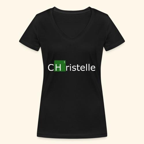 christelle - T-shirt bio col V Stanley & Stella Femme