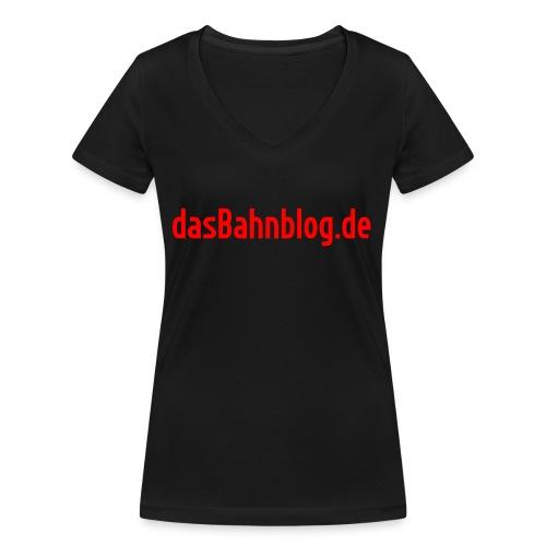 dasBahnblog de - Frauen Bio-T-Shirt mit V-Ausschnitt von Stanley & Stella