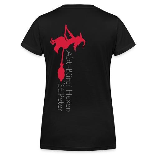 Logo_hexen - Frauen Bio-T-Shirt mit V-Ausschnitt von Stanley & Stella