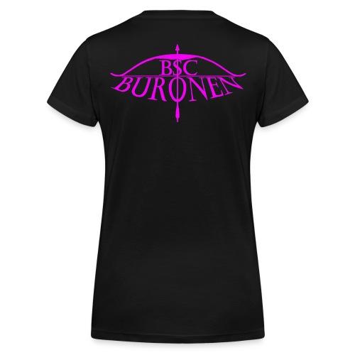 bsc buronen pink - Frauen Bio-T-Shirt mit V-Ausschnitt von Stanley & Stella