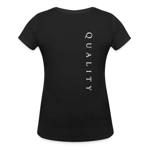 Quality Original - Women's Organic V-Neck T-Shirt by Stanley & Stella
