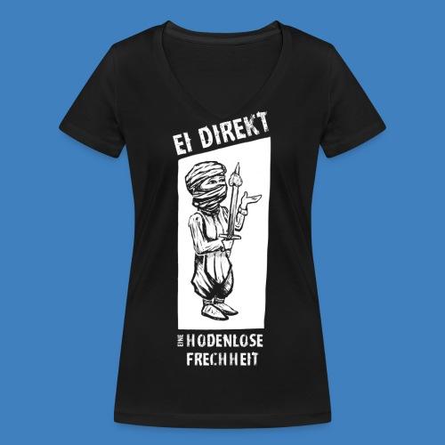 Logo 2018 - Frauen Bio-T-Shirt mit V-Ausschnitt von Stanley & Stella
