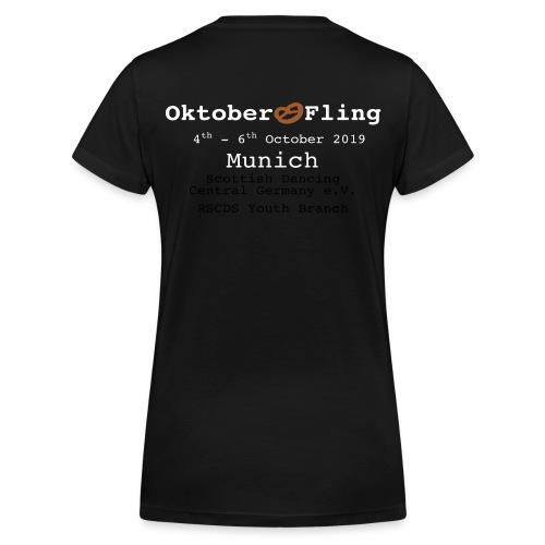 oktoberfling_braunebreze - Frauen Bio-T-Shirt mit V-Ausschnitt von Stanley & Stella