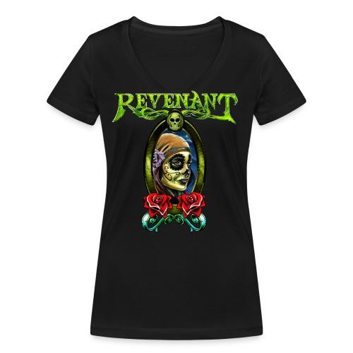 Revenant 2016 Front - Women's Organic V-Neck T-Shirt by Stanley & Stella