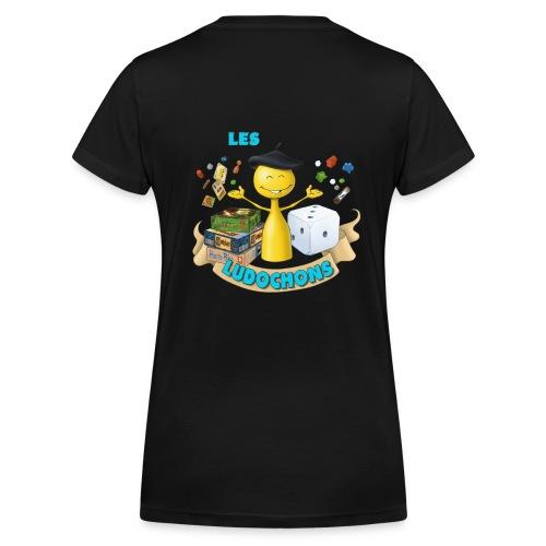 logo1bis gif - T-shirt bio col V Stanley & Stella Femme