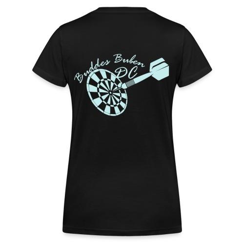 blauhell - Frauen Bio-T-Shirt mit V-Ausschnitt von Stanley & Stella