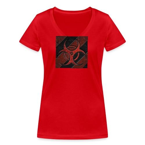 avatar 3D - Camiseta ecológica mujer con cuello de pico de Stanley & Stella