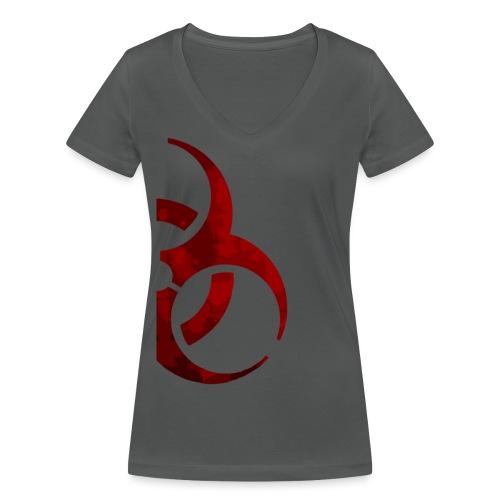 Biohazard der - Camiseta ecológica mujer con cuello de pico de Stanley & Stella