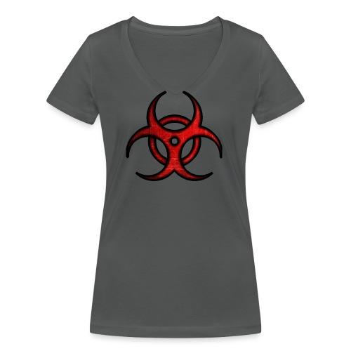 iSubdes Gaming Logo - Camiseta ecológica mujer con cuello de pico de Stanley & Stella