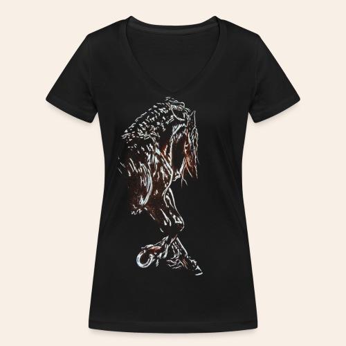 Friese - Frauen Bio-T-Shirt mit V-Ausschnitt von Stanley & Stella
