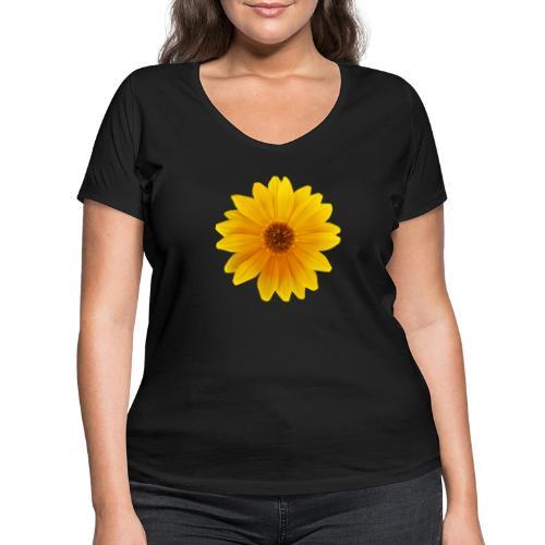 TIAN GREEN Garten - Mittagsgold 2020 01 - Frauen Bio-T-Shirt mit V-Ausschnitt von Stanley & Stella