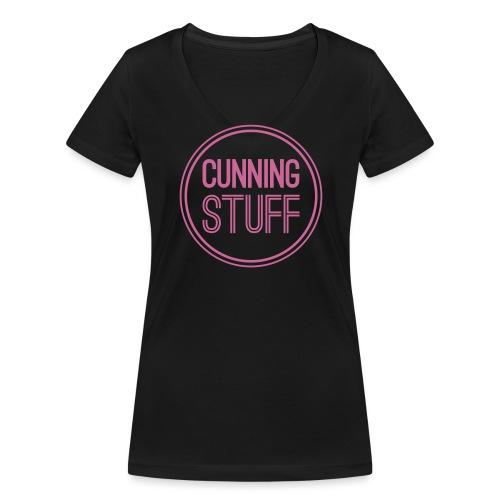CS-Logo-Original-Negativ - Frauen Bio-T-Shirt mit V-Ausschnitt von Stanley & Stella