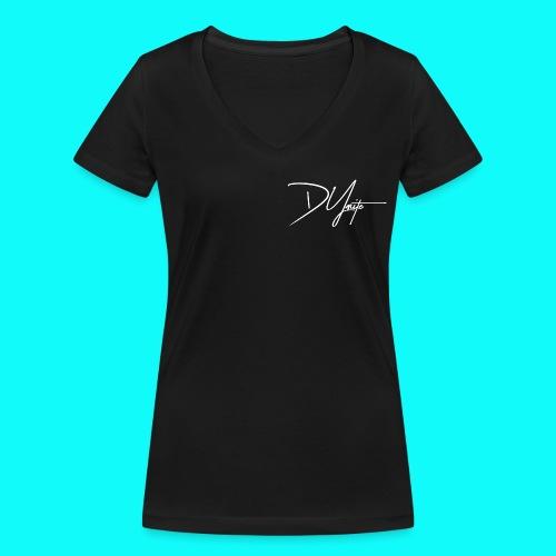 DyMite weiß png - Frauen Bio-T-Shirt mit V-Ausschnitt von Stanley & Stella