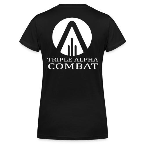 transparent - Frauen Bio-T-Shirt mit V-Ausschnitt von Stanley & Stella