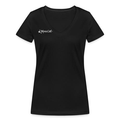 TMC_logo_wit-zondertekst - Vrouwen bio T-shirt met V-hals van Stanley & Stella