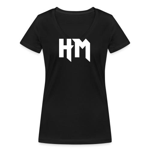 HM_vorne - Frauen Bio-T-Shirt mit V-Ausschnitt von Stanley & Stella