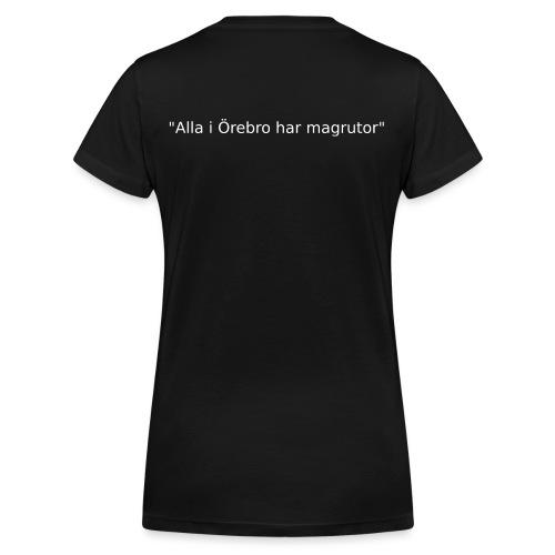 Ju jutsu förslag 2 version 1 vit text - Ekologisk T-shirt med V-ringning dam från Stanley & Stella