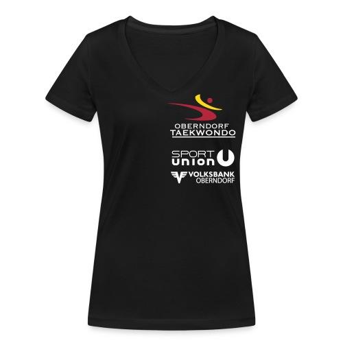 tkd schirt simple farbev7 - Frauen Bio-T-Shirt mit V-Ausschnitt von Stanley & Stella