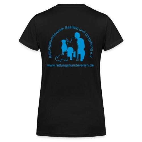 logovectorblack - Frauen Bio-T-Shirt mit V-Ausschnitt von Stanley & Stella