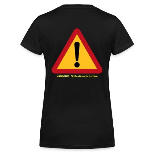 VarningTurfare - Ekologisk T-shirt med V-ringning dam från Stanley & Stella