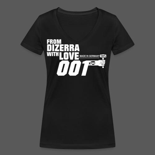 From Dizerra with Love - Frauen Bio-T-Shirt mit V-Ausschnitt von Stanley & Stella