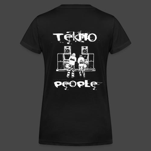 personnes Tekno - T-shirt bio col V Stanley & Stella Femme
