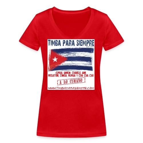 LOGO TPS png - Women's Organic V-Neck T-Shirt by Stanley & Stella