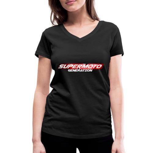 Supermoto Generation Hoodie - Frauen Bio-T-Shirt mit V-Ausschnitt von Stanley & Stella