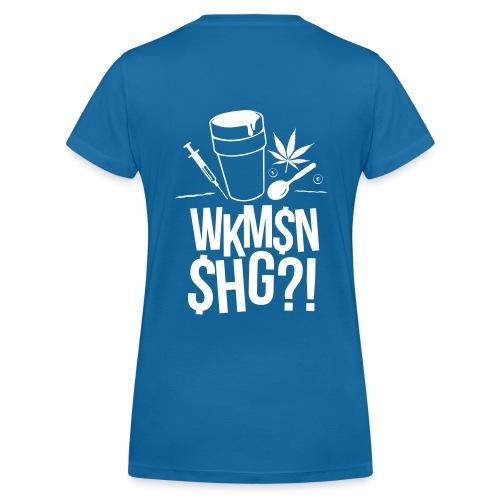 WKM$N$HG - Frauen Bio-T-Shirt mit V-Ausschnitt von Stanley & Stella