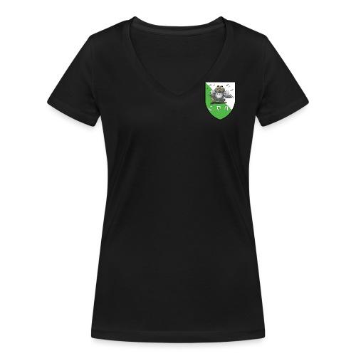 logo coeur CDM - T-shirt bio col V Stanley & Stella Femme