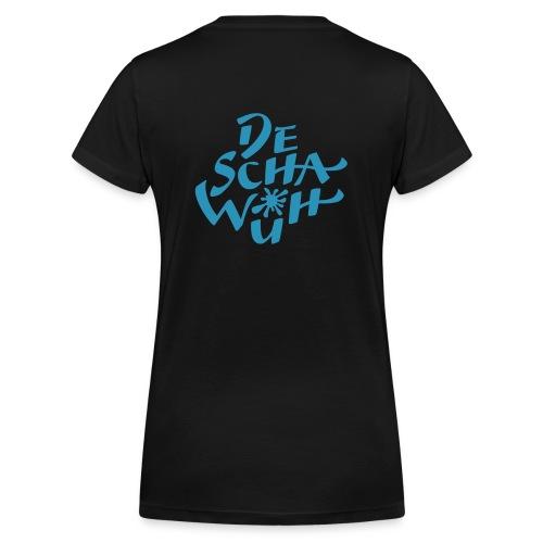 Deschawüh - Frauen Bio-T-Shirt mit V-Ausschnitt von Stanley & Stella