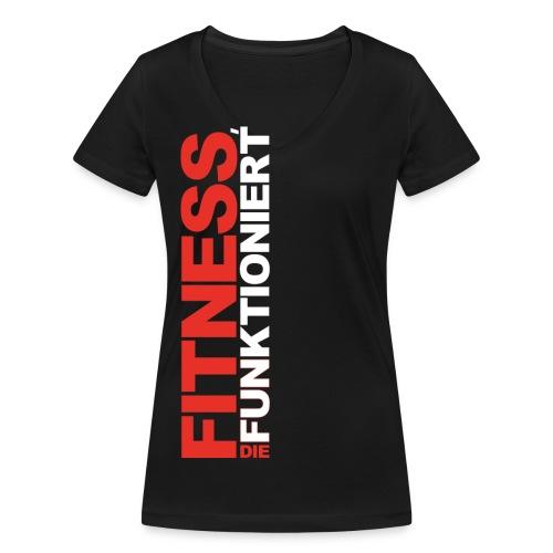 neu 1 png - Frauen Bio-T-Shirt mit V-Ausschnitt von Stanley & Stella