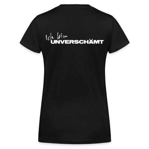 Schriftzug Ich bin - Frauen Bio-T-Shirt mit V-Ausschnitt von Stanley & Stella