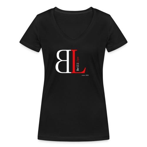 BrillLips - Frauen Bio-T-Shirt mit V-Ausschnitt von Stanley & Stella