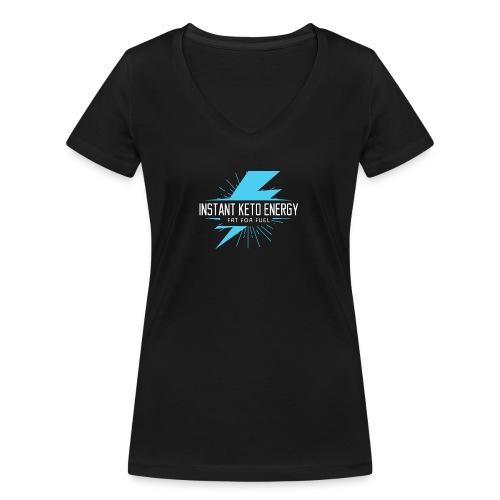 instantketoenergy - Frauen Bio-T-Shirt mit V-Ausschnitt von Stanley & Stella