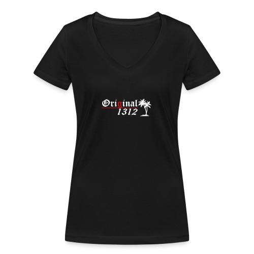 1312 T-Hemd [Druck beidseitig] - Frauen Bio-T-Shirt mit V-Ausschnitt von Stanley & Stella
