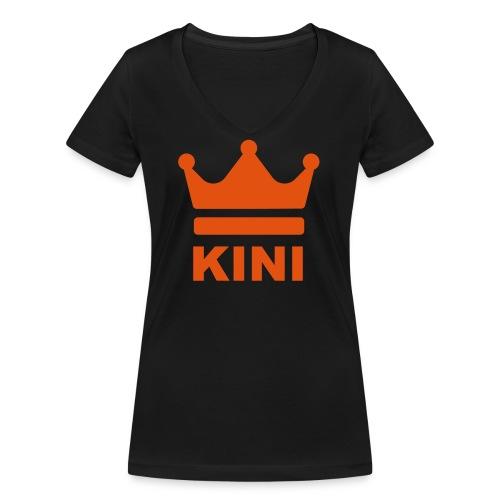 KINI ist König - Frauen Bio-T-Shirt mit V-Ausschnitt von Stanley & Stella
