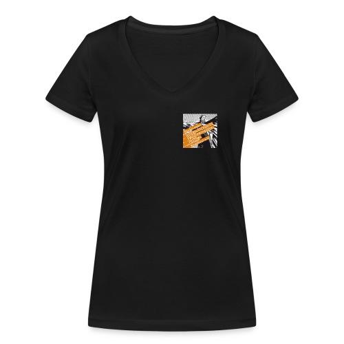 Logi Förderverein JPG - Frauen Bio-T-Shirt mit V-Ausschnitt von Stanley & Stella