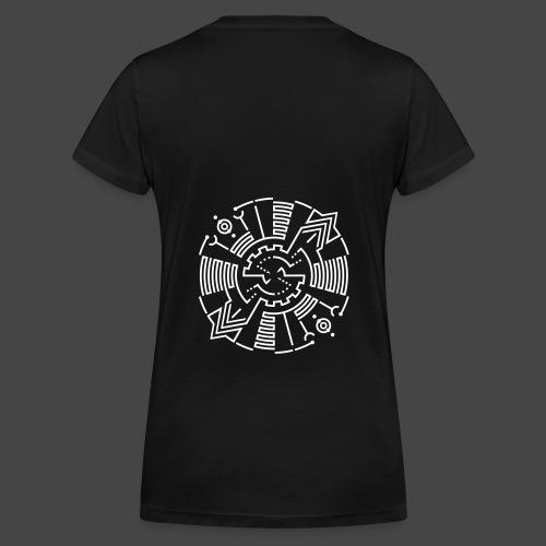 Tekno 23 Spirito - T-shirt ecologica da donna con scollo a V di Stanley & Stella