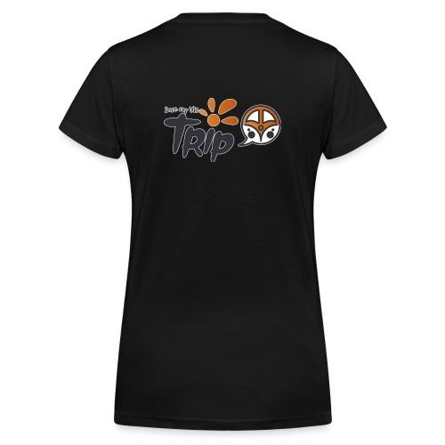 Logo pour fond sombre - T-shirt bio col V Stanley & Stella Femme