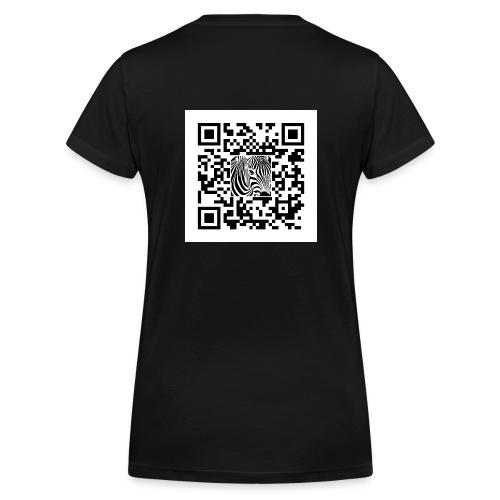 QR Code Another shot of - Vrouwen bio T-shirt met V-hals van Stanley & Stella