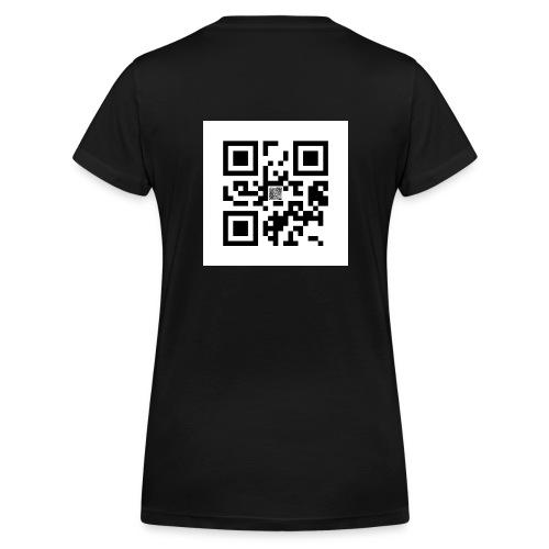 QR Code Oesje - Vrouwen bio T-shirt met V-hals van Stanley & Stella