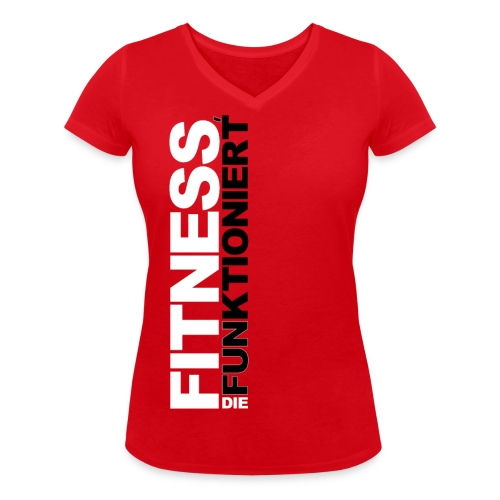 FDF HG farbig png - Frauen Bio-T-Shirt mit V-Ausschnitt von Stanley & Stella