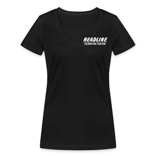 Celebration png - Frauen Bio-T-Shirt mit V-Ausschnitt von Stanley & Stella