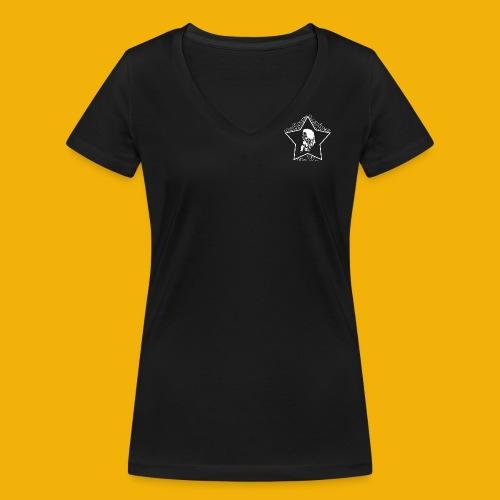 indistarwe - Frauen Bio-T-Shirt mit V-Ausschnitt von Stanley & Stella