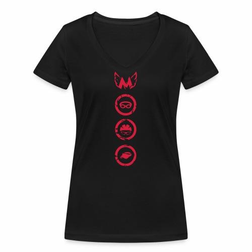 Mosso_run_swim_cycle - T-shirt ecologica da donna con scollo a V di Stanley & Stella