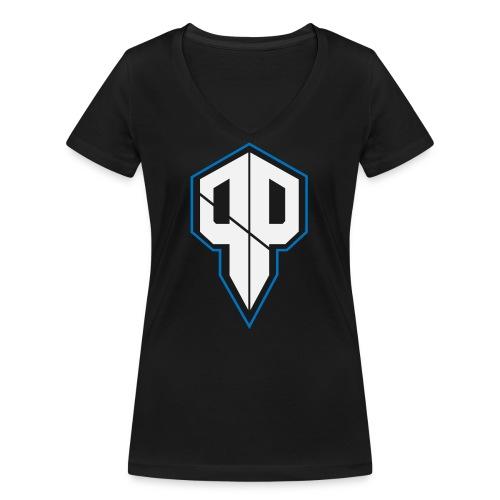 Pureness.one ESPORT LOGO - Frauen Bio-T-Shirt mit V-Ausschnitt von Stanley & Stella