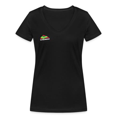 La Ribambulle illus - T-shirt bio col V Stanley & Stella Femme